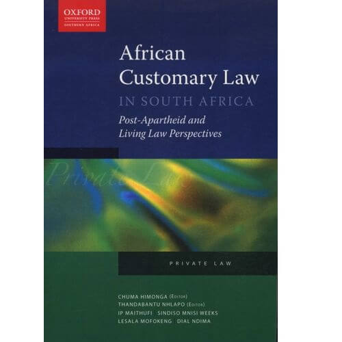 African Customary Law in SA