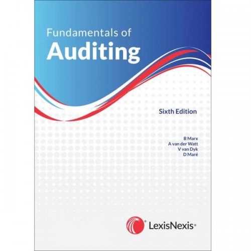 Fundamentals of Auditing 6th edition