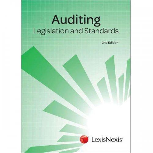 Auditing: Legislation and Standards 2ed