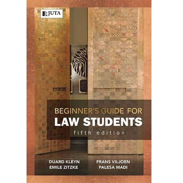 Beginners Guide for Law Students 5ed