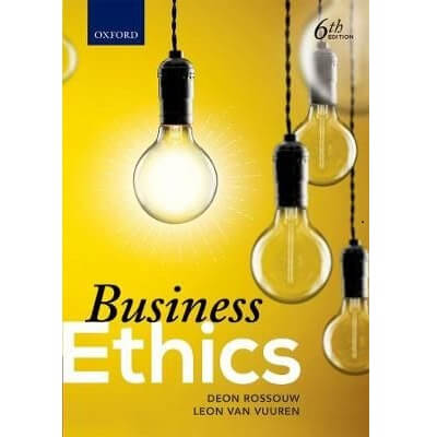 Business Ethics in South Africa 6ed