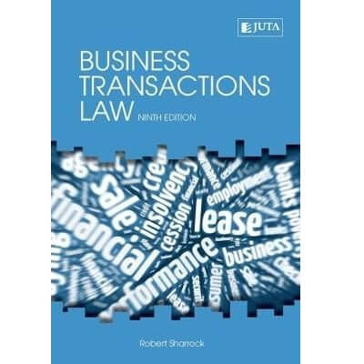 Business Transaction Law 9ed