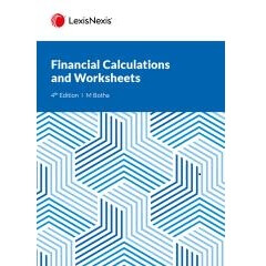 Financial Calculations and Worksheets 4ed