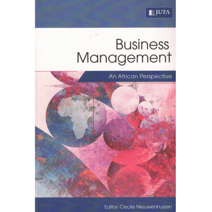 Business Management: An African Perspective