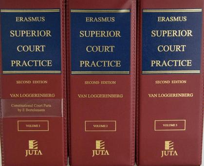 Erasmus Superior Court Practice 2ed