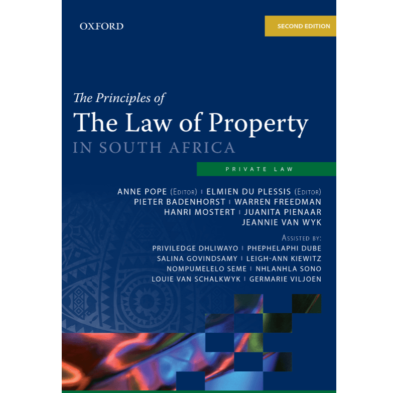 Principles of Law of Property in SA 2ed