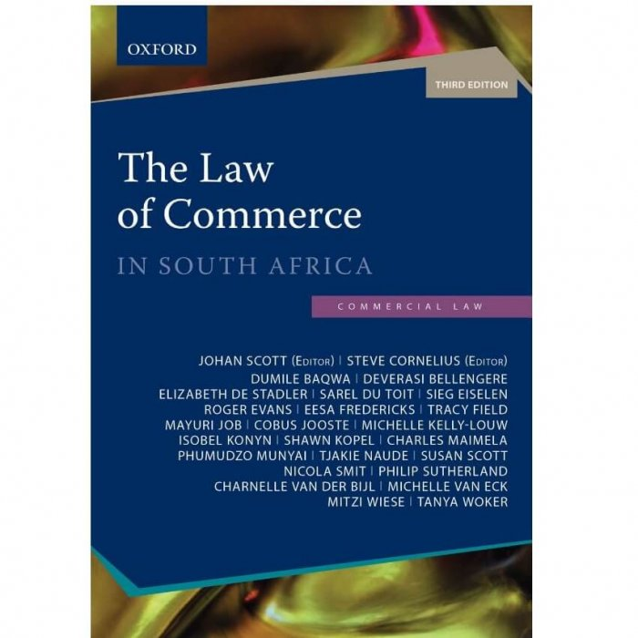 Law of Commerce in South Africa