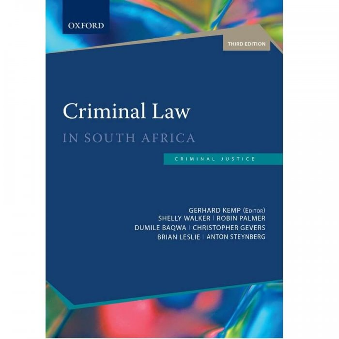 Criminal Law in South Africa 3ed