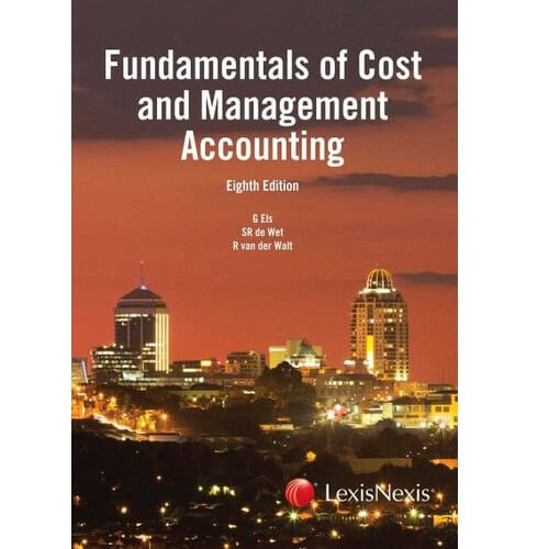 Fundamentals of Cost & Management Accounting