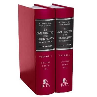 Herbstein & Van Winsen: Civil Practice of HC & SCA of SA
