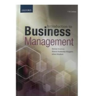 Introduction to Business Management 11th edition