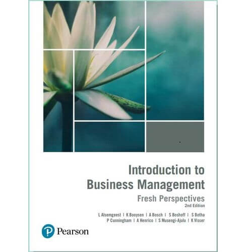 Introduction to Business Management: Fresh Perspectives