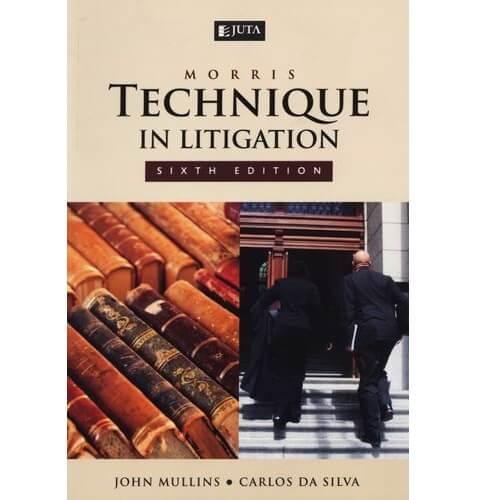 Morris: Technique in Litigation