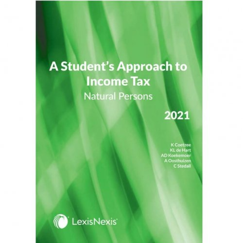 Student's Approach To Income Tax: Natural Persons 2021
