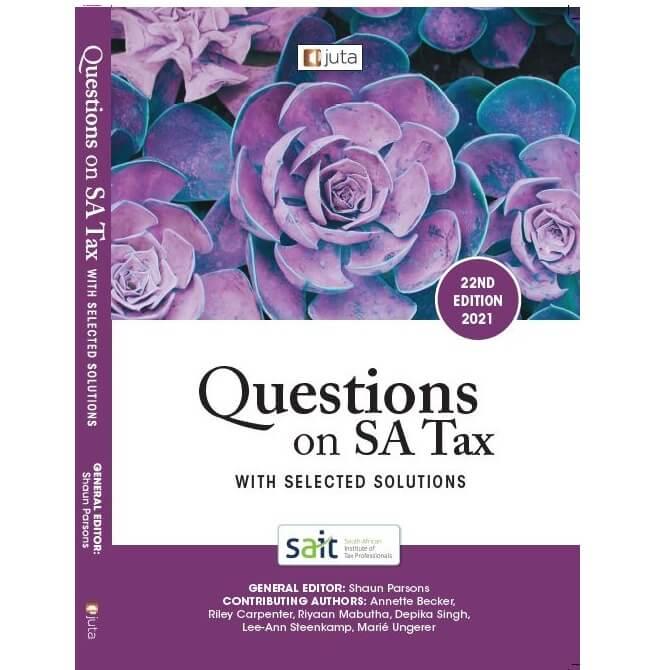 Questions on SA Tax 22ed 2021