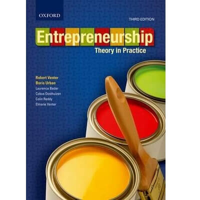 Entrepreneurship: Theory in Practice 3ed