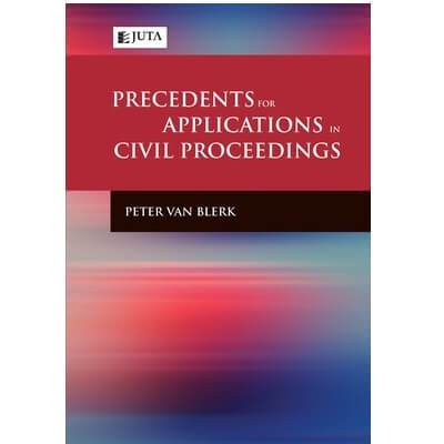 Precedents for Applications in Civil Proceedings