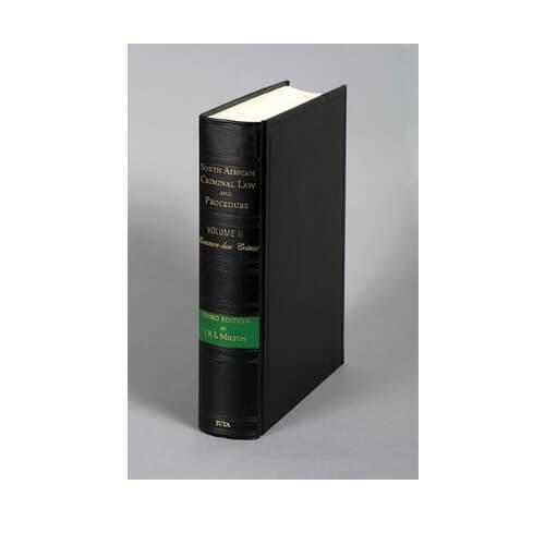 SA Criminal Law & Proc Vol II: Common-law Crimes