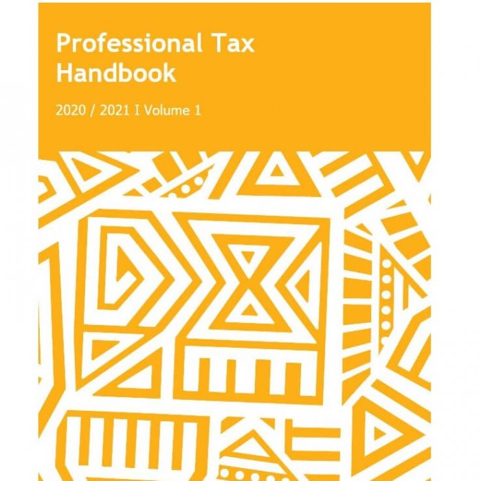 Professional Tax Handbook 2020 / 2021